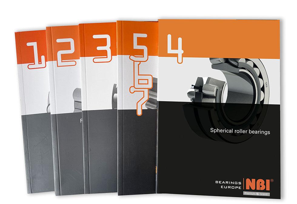 NBI Bearings Europe presenta su nuevo catálogo de rodamientos de rodillos esféricos.