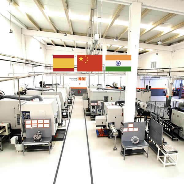 Plantas de producción nbi