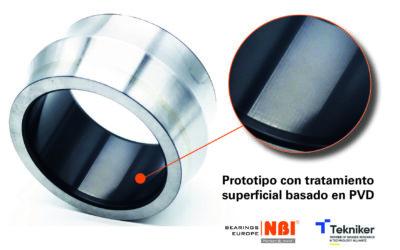 NBI Bearings Europe, en colaboración con IK4-TEKNIKER, ha desarrollado rodamientos con propiedades mejoradas